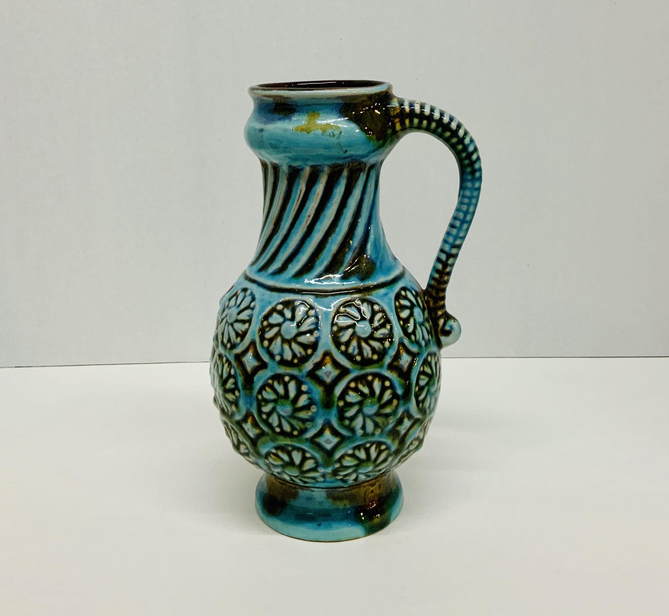 Mid Century Pottery Pitcher