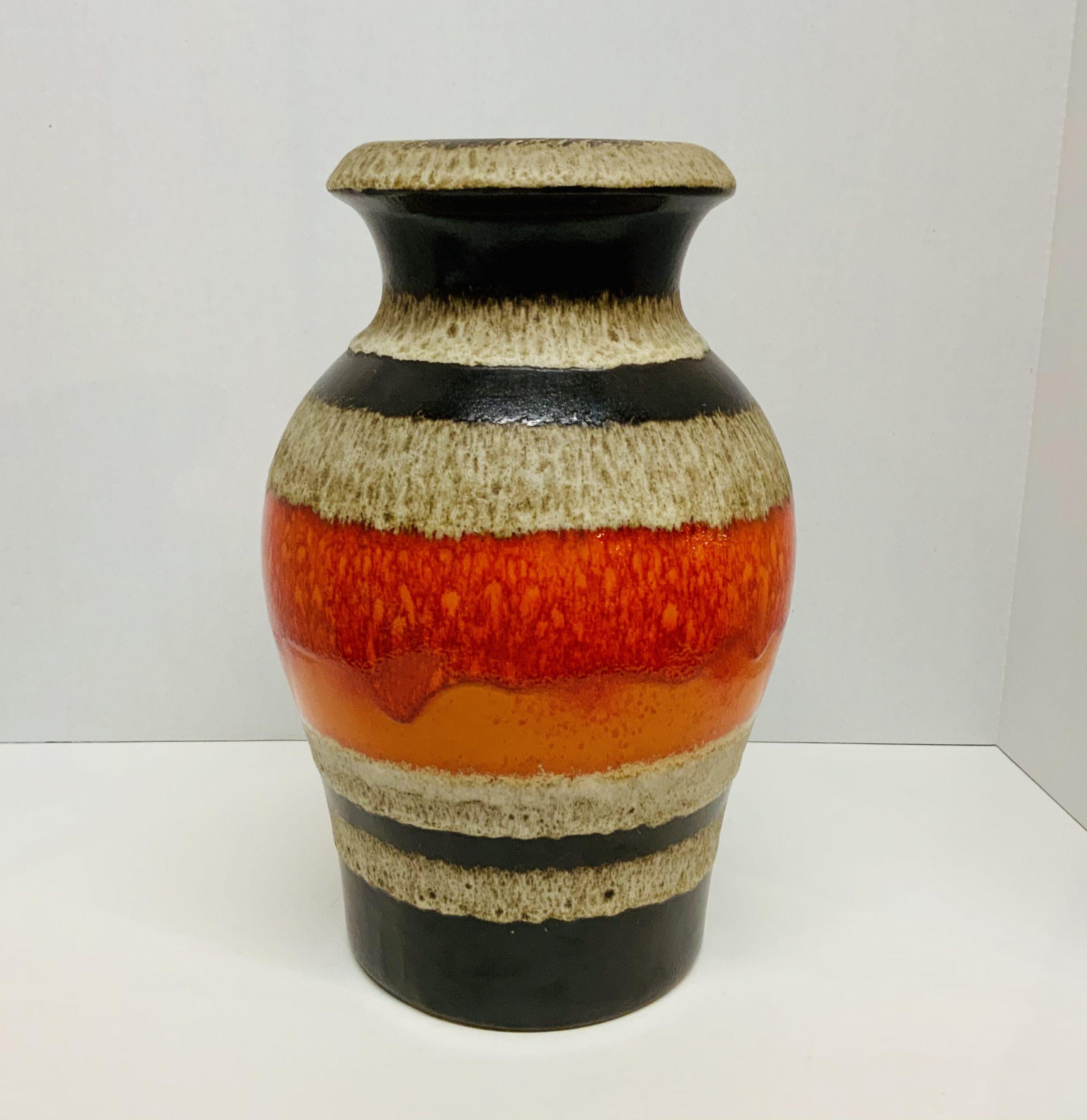 West Germany Pottery Vase