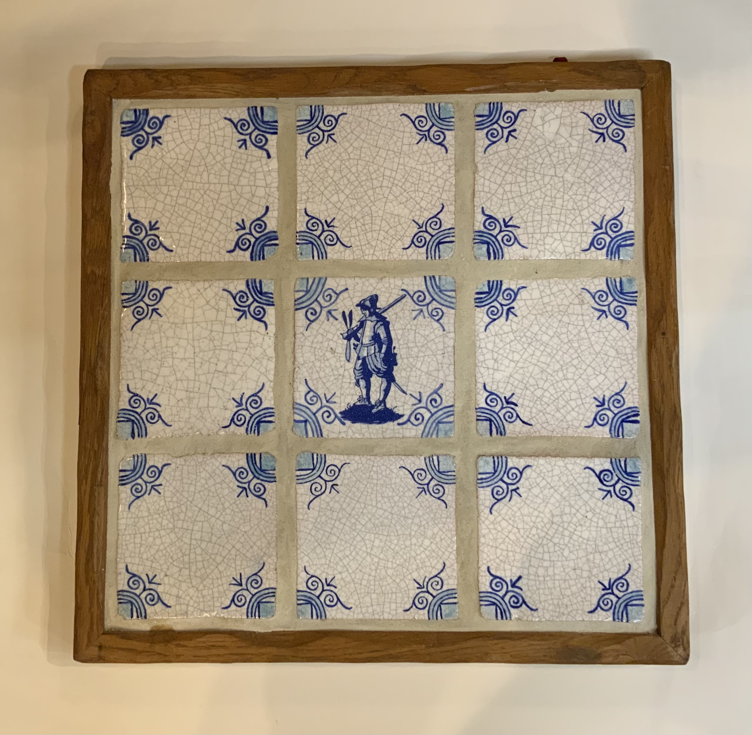 French tiles in Frame